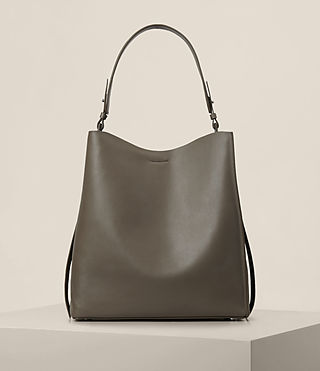 Donne Paradise North South Tote (MINK GREY)