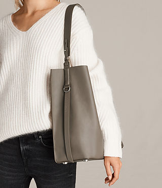 Women's Paradise North South Tote (MINK GREY) - product_image_alt_text_2