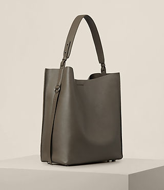 Women's Paradise North South Tote (MINK GREY) - product_image_alt_text_4