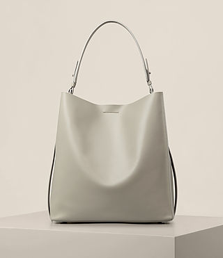 Damen Paradise North South Tote (LIGHT CEMENT GREY)