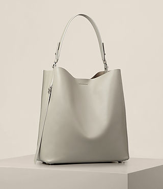 Damen Paradise North South Tote (LIGHT CEMENT GREY) - product_image_alt_text_5