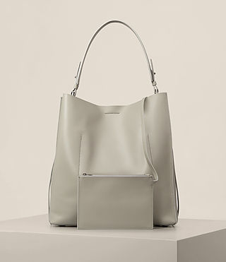 Damen Paradise North South Tote (LIGHT CEMENT GREY) - product_image_alt_text_7