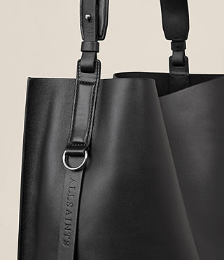 Womens Paradise North South Tote (Black) - product_image_alt_text_4