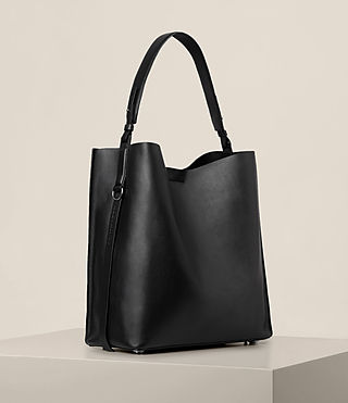 Womens Paradise North South Tote (Black) - product_image_alt_text_5