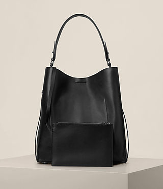 Women's Paradise North South Tote (Black) - Image 8