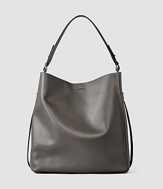 Womens Paradise North South Tote (Dark Grey)