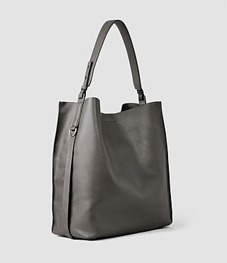 Womens Paradise North South Tote (Dark Grey) - product_image_alt_text_2