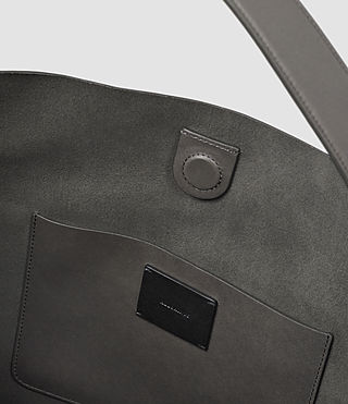 Womens Paradise North South Tote (Dark Grey) - product_image_alt_text_5