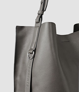 Womens Paradise North South Tote (Dark Grey) - product_image_alt_text_7
