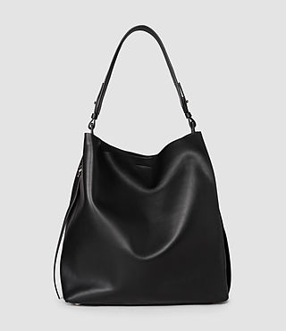 Donne Paradise North South Tote (Black/Black) - product_image_alt_text_2