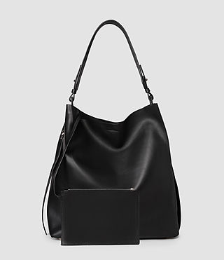 Donne Paradise North South Tote (Black/Black) - product_image_alt_text_3