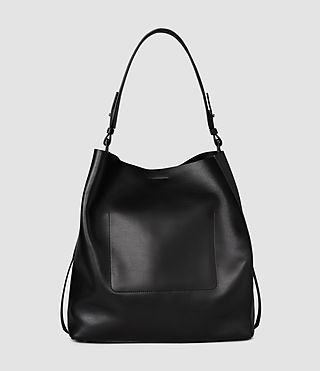 Donne Paradise North South Tote (Black/Black) - product_image_alt_text_4