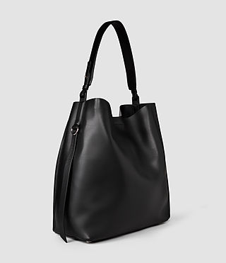 Femmes Paradise North South Tote (Black/Black) - product_image_alt_text_5