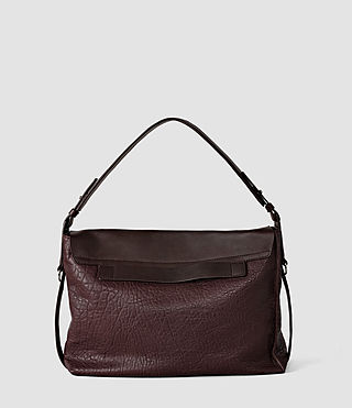 Damen Paradise Satchel Bag (Burgundy/Dk Choc) - product_image_alt_text_2