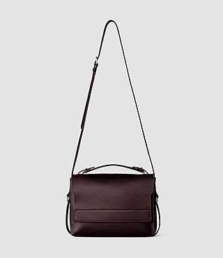 Donne Paradise Shoulder Bag (Burgundy/Dk Choc)