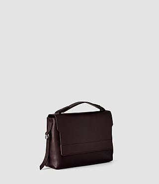 Women's Paradise Shoulder Bag (Burgundy/Dk Choc) - product_image_alt_text_3