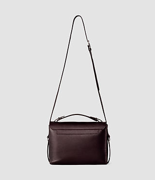 Women's Paradise Shoulder Bag (Burgundy/Dk Choc) - product_image_alt_text_4