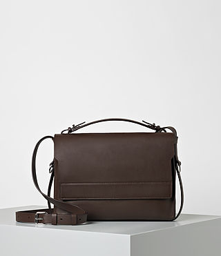 Damen Paradise Shoulder Bag (PRUNE)