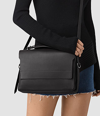 Womens Paradise Shoulder Bag (Black) - product_image_alt_text_2