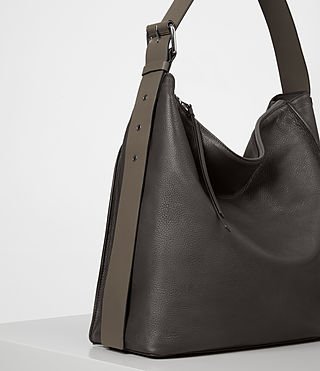 Women's Zoku North South Tote (MINK GREY) - product_image_alt_text_3
