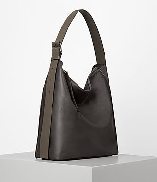Women's Zoku North South Tote (MINK GREY) - product_image_alt_text_4