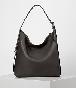 Womens Zoku North South Tote (MINK GREY) - product_image_alt_text_5