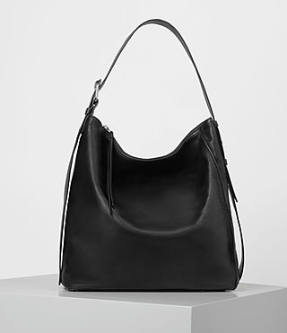 Womens Zoku North South Tote (Black) - product_image_alt_text_1