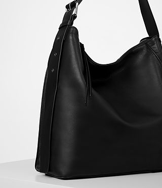 Womens Zoku North South Tote (Black) - product_image_alt_text_3
