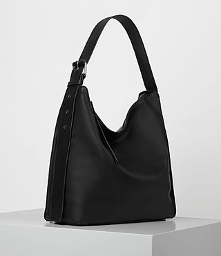 Womens Zoku North South Tote (Black) - product_image_alt_text_4