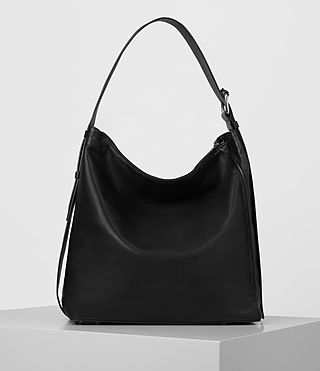 Womens Zoku North South Tote (Black) - product_image_alt_text_6