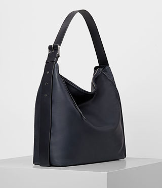 Mujer Zoku North South Tote (Dark Blue) - product_image_alt_text_4