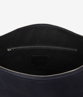 Mujer Zoku North South Tote (Dark Blue) - product_image_alt_text_5