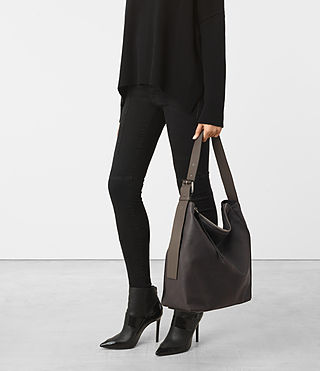 Mujer Zoku North South Tote (Mink) - product_image_alt_text_2