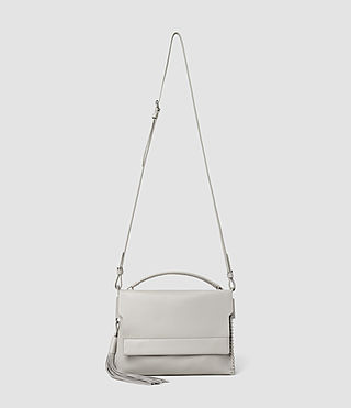 Women's Pearl Shoulder Bag (Light Grey) -