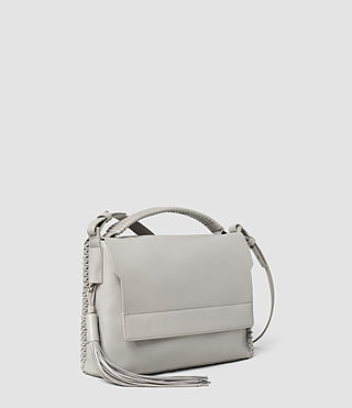 Mujer Pearl Shoulder Bag (Light Grey) - product_image_alt_text_2