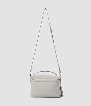 Women's Pearl Shoulder Bag (Light Grey) - product_image_alt_text_3