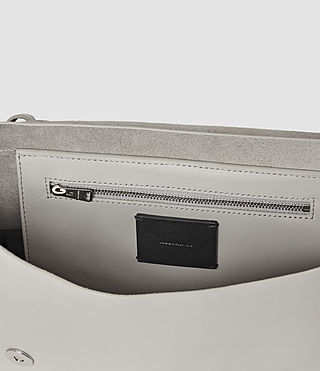 Women's Pearl Shoulder Bag (Light Grey) - product_image_alt_text_5