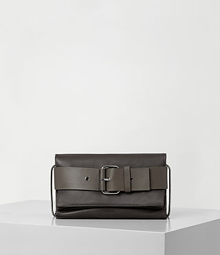 Womens Zoku Clutch (MINK GREY)