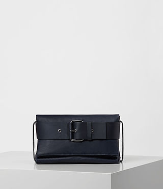 Womens Zoku Clutch (Dark Blue)
