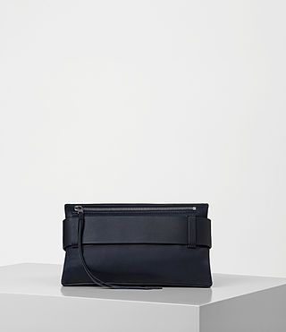 Womens Zoku Clutch (Dark Blue) - product_image_alt_text_5
