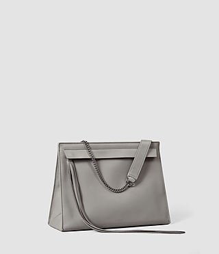 Donne Kyo Shoulder Bag (Mid Grey) - product_image_alt_text_2