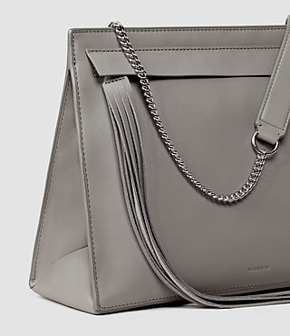 Donne Kyo Shoulder Bag (Mid Grey) - product_image_alt_text_4