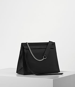 Women's Kyo Shoulder Bag (Black) - product_image_alt_text_4