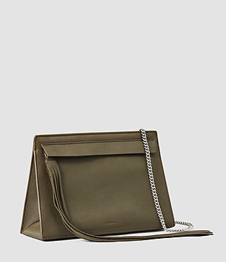 Damen Kyo Medium Crossbody (Dark Khaki Green) - product_image_alt_text_2