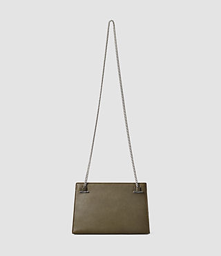 Damen Kyo Medium Crossbody (Dark Khaki Green) - product_image_alt_text_3