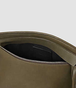Damen Kyo Medium Crossbody (Dark Khaki Green) - product_image_alt_text_5