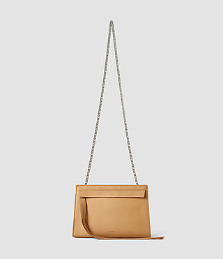 Mujer Kyo Medium Crossbody (LIGHT CARAMEL) - product_image_alt_text_1