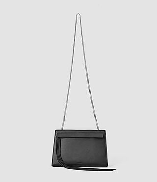 Womens Kyo Medium Crossbody (Black) - product_image_alt_text_1