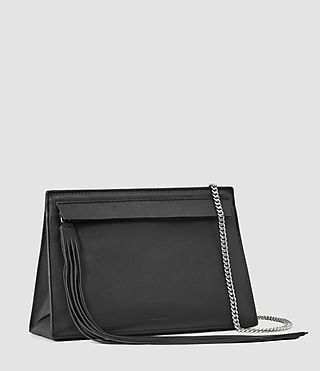 Womens Kyo Medium Crossbody (Black) - product_image_alt_text_2