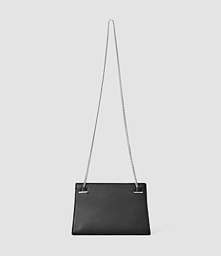 Womens Kyo Medium Crossbody (Black) - product_image_alt_text_3